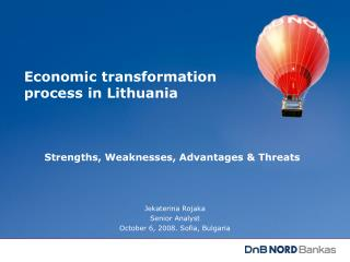 Economic transformation process in Lithuania