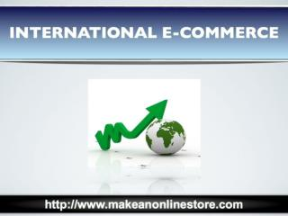 International E-commerce