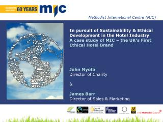 In pursuit of Sustainability & Ethical  Development in the Hotel Industry