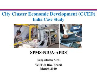 City Cluster Economic Development (CCED) India Case Study