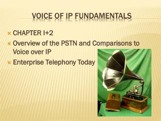 Voice of IP Fundamentals