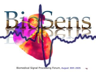 Biomedical Signal Processing Forum , August 30th 2005