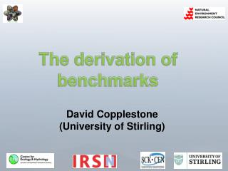 The derivation of benchmarks