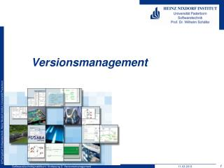 Versionsmanagement