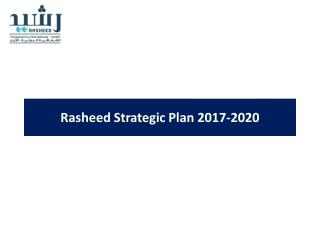 Rasheed Strategic Plan 2017-2020
