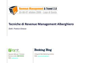 Il blog del Web Marketing turistico Web:  bookingblog.it