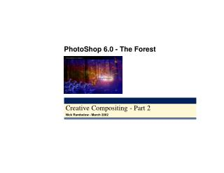 Creative Compositing - Part 2