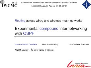 Routing  across wired and wireless mesh networks