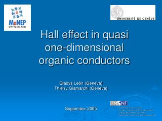 Hall effect in quasi one-dimensional organic conductors