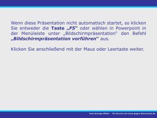 Cost-Average-Effekt -  Ein Service von gegen-altersarmut.de