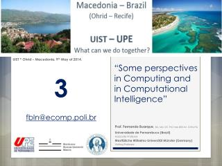 """ Some perspectives in Computing and in Computational Intelligence """