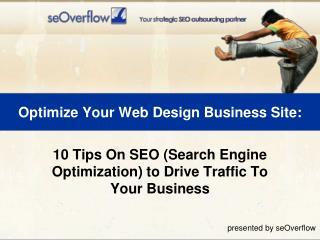 Optimize Your Web Design Business Site: