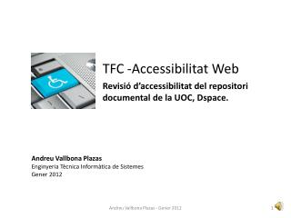 TFC -Accessibilitat Web
