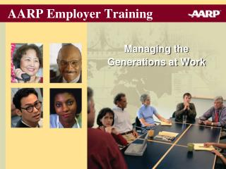 AARP Employer Training