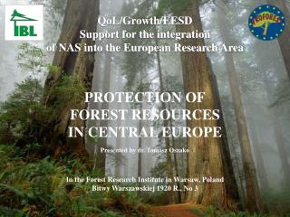 QoL/Growth/EESD Support for the integration of NAS into the European Research Area