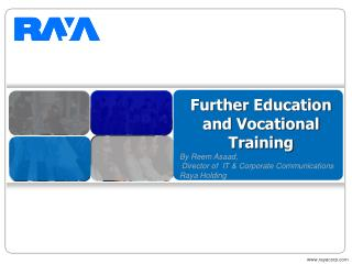 Further Education and Vocational Training