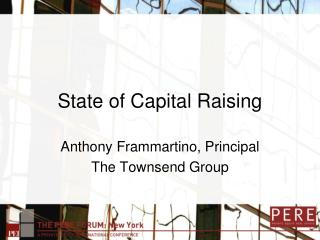 State of Capital Raising