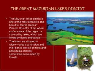 THE GREAT MAZURIAN LAKES DISCIRT