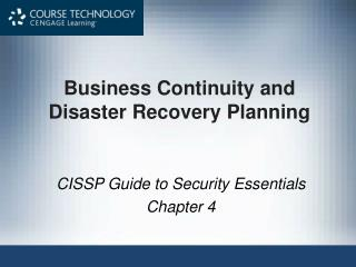 Business Continuity and Disaster Recovery Planning