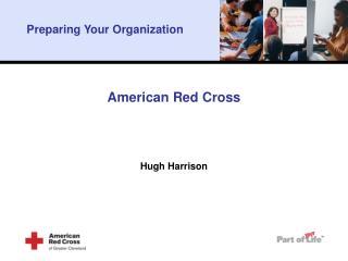 American Red Cross Hugh Harrison