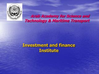 Investment and finance Institute