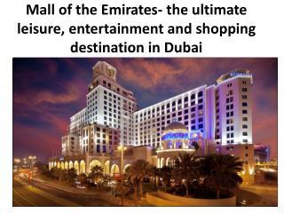 Shopping Mall in Dubai