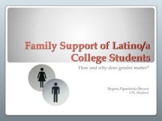 Family Support of Latino/a College Students