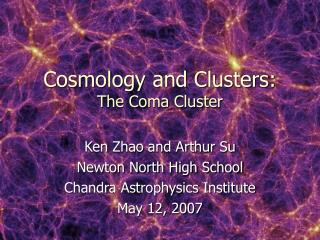 Cosmology and Clusters: The Coma Cluster