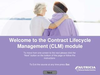 Welcome to the Contract Lifecycle Management (CLM) module