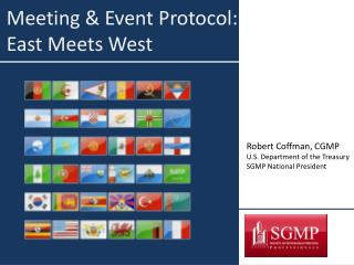 Meeting & Event Protocol:  East Meets West