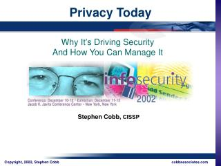 Privacy Today