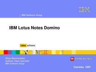 IBM Lotus Notes Domino