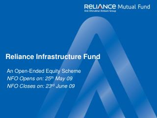 Reliance Infrastructure Fund