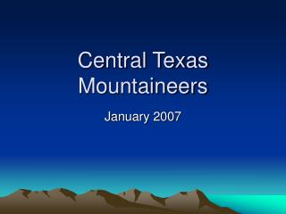 Central Texas Mountaineers