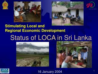 Status of LOCA in Sri Lanka