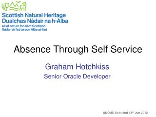 Absence Through Self Service