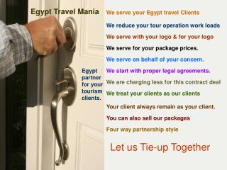Egypt Travel Mania