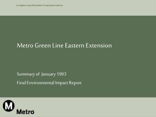 Metro Green Line Eastern Extension