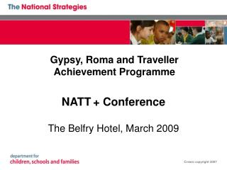 Gypsy, Roma and Traveller Achievement Programme