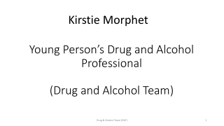Young People s Specialist Substance Misuse Treatment Service Number 38