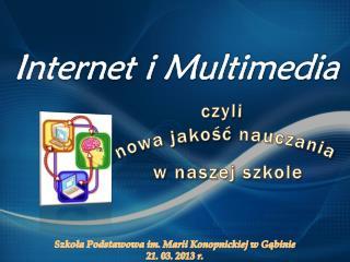 Internet i Multimedia