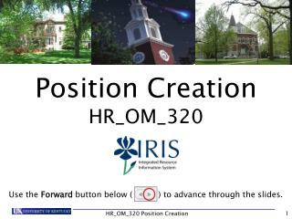 Position Creation  HR_OM_320