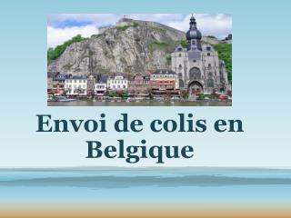 Envoi de colis en belgique