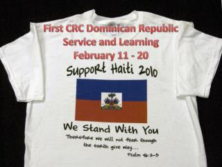 First CRC Dominican Republic Service and Learning February 11 - 20