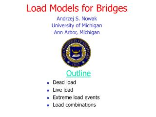 Load Models for Bridges