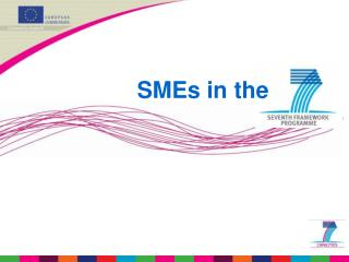 SMEs in the
