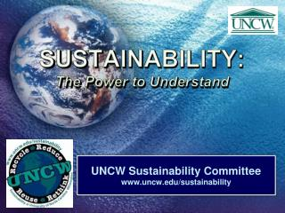 SUSTAINABILITY: The Power to Understand
