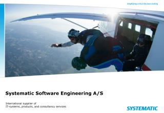 Systematic Software Engineering A/S