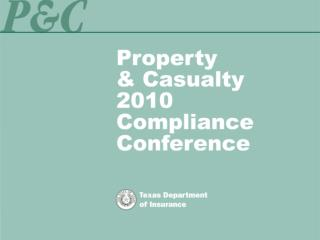Property  & Casualty 2008 Compliance Conference