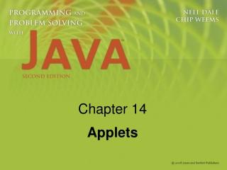 Chapter 14 Applets